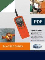 Tron Tr20 Gmdss Vb 291496