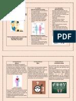 folleto informativo - conducta sexual