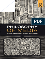 Philosophy of Media a Short History of Ideas and Innovations From Socrates to Social Media by Hassan, Robert Sutherland, Thomas (Z-lib.org)