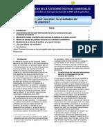 Notas tecnicas de la FAO sobre politicas comerciales