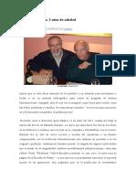 A Borón - Eduardo Galeano a 5 años de su muerte