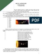 7.Sistemul Solar
