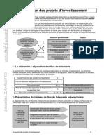 Evaluation Projets Invest