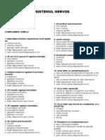Grile Anatomie UMF Const. - II - SISTEMUL NERVOS