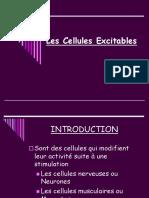 CHAPITRE IV LES CELLULES EXCITABLES
