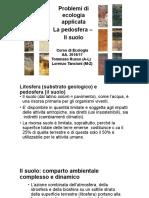 Litosfera (Strutturai_degrado e Biomonitoraggio Dei Suoli)