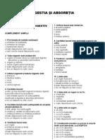 Grile Anatomie UMF Const. - VI - DIGESTIA SI ABSORBTIA
