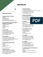 Grile Anatomie UMF Const. - VIII - RESPIRATIA