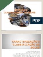 AULA 11 Caracterização e Classificação de Solos