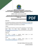 Retificacao Do Edital 01 e Mail de Inscricao