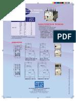 Catalogo WEG Acionadores -RW17D