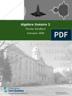 Algèbre linéaire 2