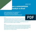 A_Caminhos Para a Sustentabilidade Do Setor de Fundição No Brasil