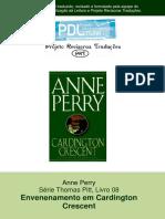 Anne Perry - Série Pitt 08 - Envenenamento Em Cardington Crescent