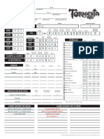 Tormenta RPG - Ficha de Personagem -Editável (v. Oficial)-bruno