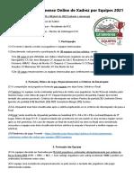 Catarinense por Equipes 2021 - Reg
