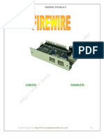 Seminar Report On Fire Wire