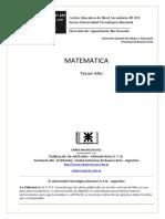 cartilla de matematica 3° año adultos
