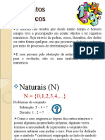 Conjuntos Numéricos I
