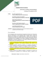 OFICIO DE SOLICITUD