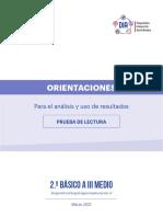 ORIENTACIONES ANÁLISIS Y USO DE RESULTADOS