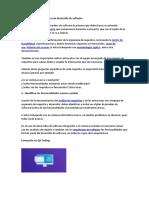 Analizar los requerimientos de desarrollo de software