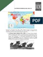 HECHOS HISTORICOS MUNDIALES DEL SIGLO XX