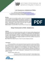 Fundamentos do Orçamento na Administração Pública