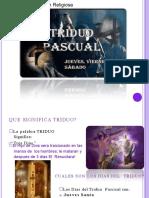 SESION 3 El Triduo Pascual