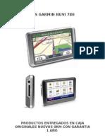 GPS GARMIN NUVI 780