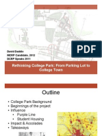 Rethink College Park -  DCRP Speaks Presentation
