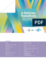 Cartilha Reforma Trabalhista