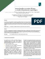 González, M. et al. Scaner 3D para estudio P. arqueológico. 2010