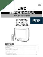 JVC AV-N21202 C-N21102 C-N21210 Manual de Servicio