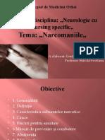 Narcomaniile