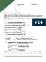 evaluation ecrite 10 ieme