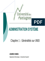 Chap 1 Administration Systeme