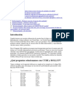 CUBE y ROLLUP del SQL