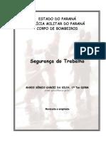 APOSTILA SEGURANÇA TRABALHO BOMBEIRO MILITAR