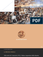 La crisi dell'impero Romano