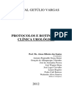 Protocolos e rotinas da clínica urológica