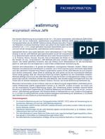 enzimatik vs jaffe