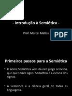 Introducao a Semiotica -primeiros passos