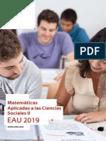 Matematicas Aplicadas a las Ciencias Sociales II