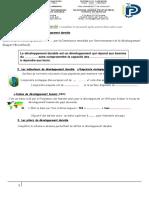TPE_Développement durable_Master pro