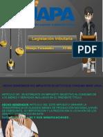 Diapositiva Tarea 6 Legislacion