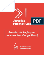 Google Meet - Ebook de Orientação