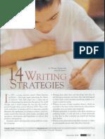 14 strategies writing