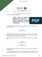 Código de Obras de Curitiba - PR