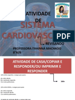 Atividade de Sistema Cardiovascular de Casa